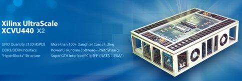 HyperSilicon Releases Xilinx- XCVU440 Based FPGA-Based