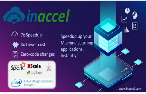 InAccel's Accelerated ML suite boosts Spark ML as much as 7x