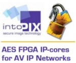 IntoPIX Announces Its New Generation Of AES IP-Cores Supporting Higher Bitrate Up To 10/100 Gbps With Optimized Footprint To Secure Network Transmission In AV Applications.