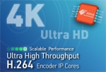 Alma Technologies Adds Three New Ultra High Throughput H.264 Encoders to its UHT IP Product Line