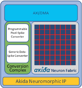 Neuromorphic IP Block Diagam