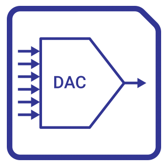 8-bit DAC GlobalFoundries Block Diagam